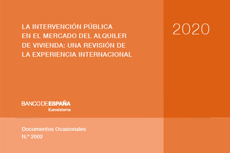 BDE – La intervención pública en el mercado de alquiler de la vivienda: una revisión de la experiencia internacional